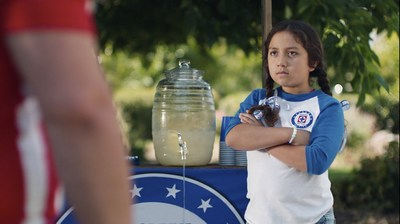 """Hyundai has teamed with Univision as the new presenting sponsor of Sábado Futbolero (Saturday Soccer). The campaign, #BecauseFútbol, features three new Spanish-language TV spots, including """"Lemonade"""" (pictured)."""