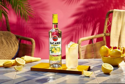 Lux Limónade, The Official Cocktail of The BACARDÍ Party Tour (PRNewsfoto/BACARDÍ®)