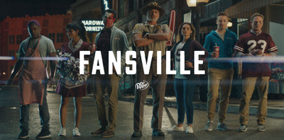 """Dr Pepper's """"Fansville"""" College Football Campaign Stacks the Bench with Season Four Return"""