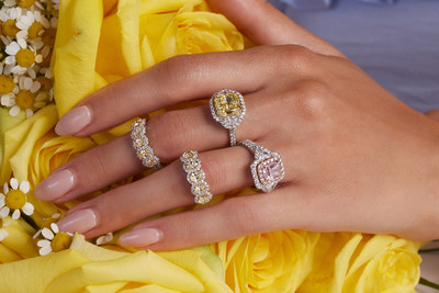 POSITIVITY is reflected in Sunny Yellow Diamonds®