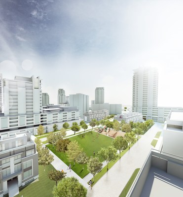 Rendering of Heron Gate Development (CNW Group/Hazelview Investments Inc.)