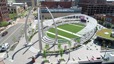 Centennial Plaza in Canton, Ohio
