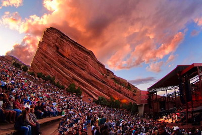 Denver's summer finale - through Labor Day weekend and into September - will feature signature events, blockbuster exhibitions and outdoor concerts, including several top artists at the renowned Red Rocks Amphitheatre. (Courtesy of Denver Arts & Venues, photo by Stevie Crecelius)