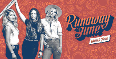 Runaway June, an all-American, three woman band that blends bluegrass with organic harmonies, will bring their upbeat, artistic style to military bases in Alaska Sept. 18-21, as part of Armed Forces Entertainment's live fall entertainment schedule.