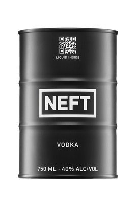 Winner of BEST VODKA, NEFT's one-of-a-kind, heat resistant and unbreakable barrel is for the active lifestyle that goes anywhere you want to go.