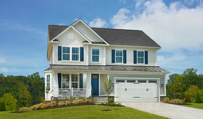 The Hemingway is one of three new Richmond American models debuting at Raven Oaks in Winchester, Virginia.