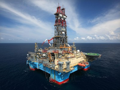THE KAWA-1 EXPLORATION WELL OFFSHORE GUYANA HAS SPUD (CNW Group/Frontera Energy Corporation)
