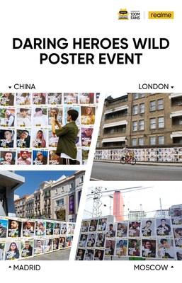 """realme Fan Festival """"Wild Poster Event"""""""