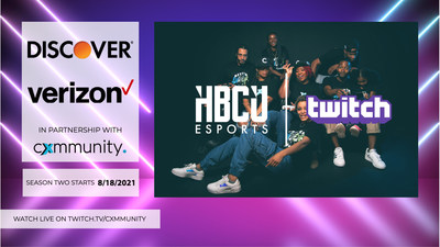 Cxmmunity and Twitch unveiled their plans for the second season of its HBCU Esports League. The league aims to help students gain access to educational and scholarship support, offered through Twitch Student, and help HBCUs bolster their esports programs. The 22-week schedule, with support from Discover and Verizon, to be aired on Twitch.tv/cxmmunity will begin on Aug. 18, 2021 at 7:00PM EST, and conclude on April 6, 2022, featuring 25 HBCUs who will compete in Madden and NBA2K.