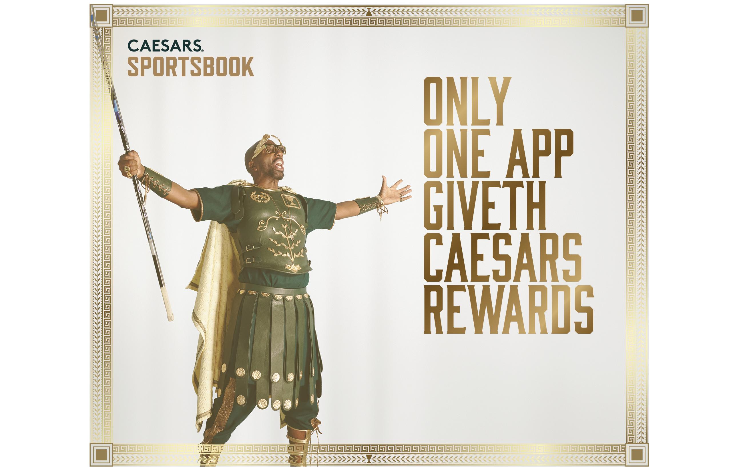 Caesars Sportsbook app earns players VIP experiences through Caesars Rewards.