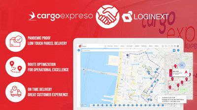 Cargo Expreso integrates with LogiNext delivery management software for express deliveries