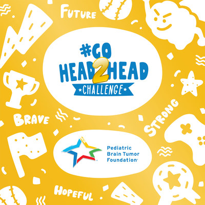 Pediatric Brain Tumor Foundation and champions from the professional sports, entertainment and video gaming communities #GoHead2Head to #CancelChildhoodCancer this September. Learn more at www.curethekids.org/gohead2head.