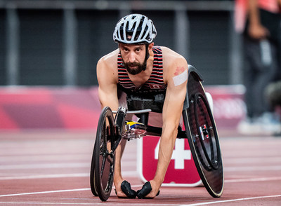 Brent Lakatos will be competing in his fourth event of the Tokyo 2020 Paralympic Games, the men's T53 100m. PHOTO: Dave Holland/Canadian Paralympic Committee (CNW Group/Canadian Paralympic Committee (Sponsorships))