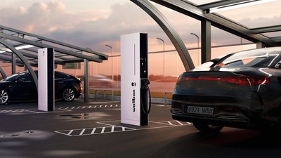 Wallbox's Hypernova can deliver up to 350 kW that allows it to fully charge an electric car in the time it takes to make a rest stop and is substantially faster than most other ultrafast chargers on the market.